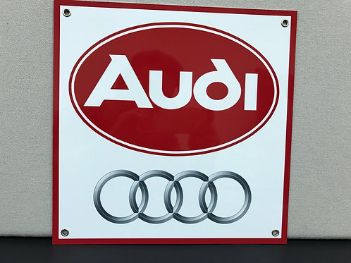 AUDI REPRODUCTION SIGN