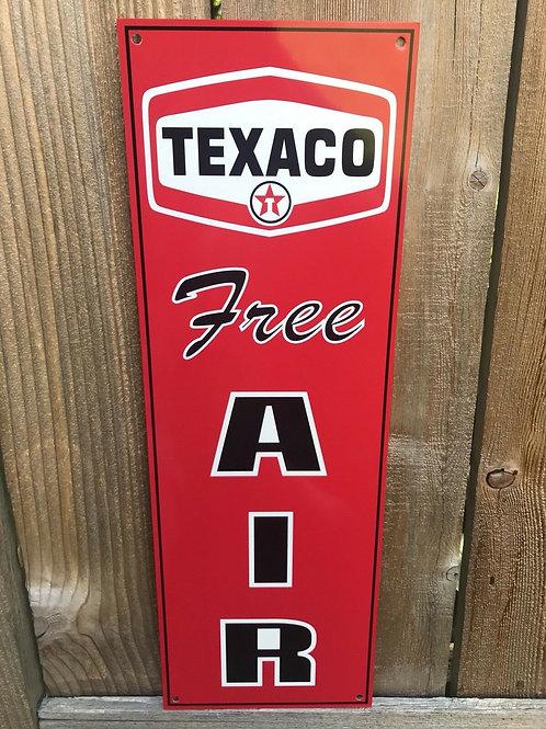 Texaco Free Air Sign