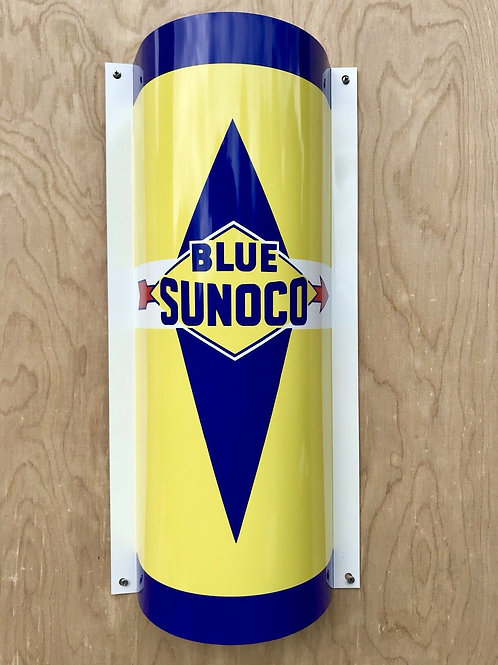 Blue Sunoco Fuels Sign