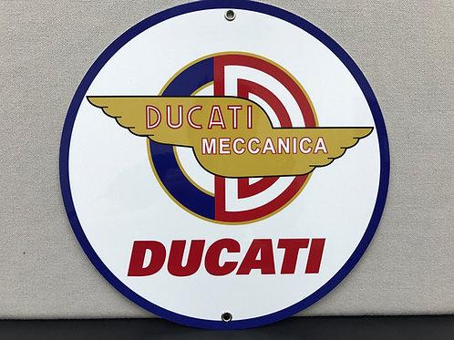 DUCATI MECCANICA REPRODUCTION SIGN