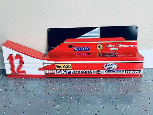 Gilles Villeneuve F1 Ferrari