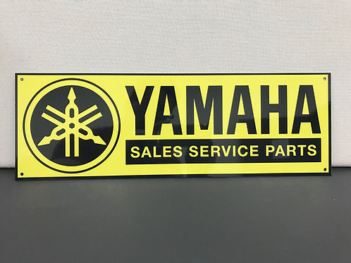 YAMAHA SALES PARTS SERVICE REPRODUCTION SIGN