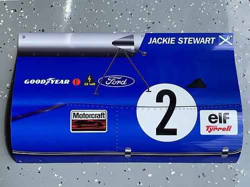 Jackie Stewart Team Tyrrell FORD Formula 1