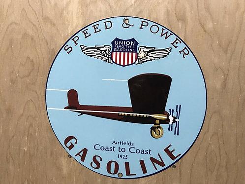 Union Gasoline Speed & Power Aviation
