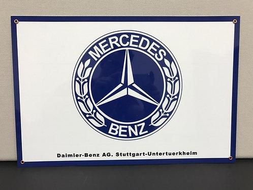 MERCEDES BENZ REPRODUCTION SIGN