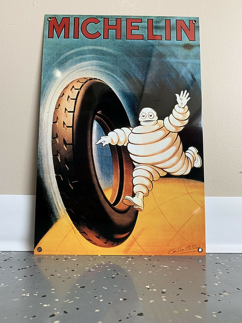 Michelin Racing Tyre Vintage Sign