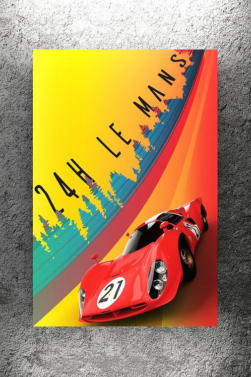 Ferrari 330 P4 1967 Le Mans