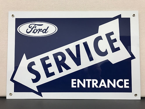 FORD SERVICE RETRO STYLE REPRODUCTION SIGN