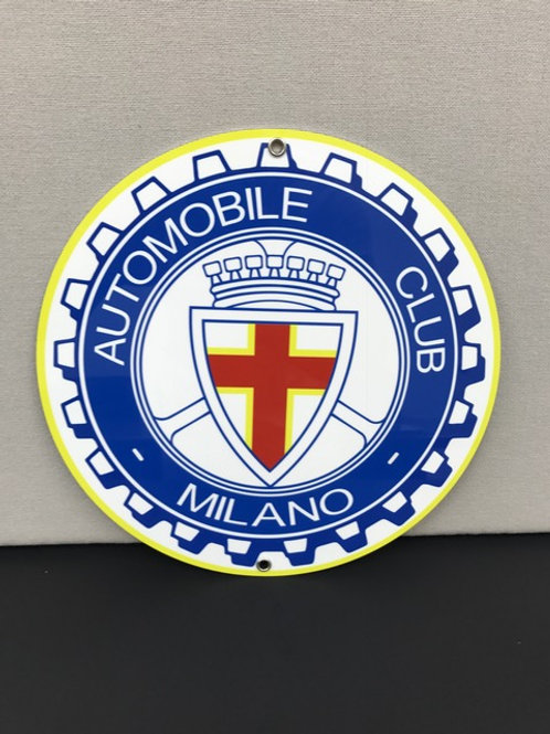 AUTOMOBILE CLUB MILANO SIGN