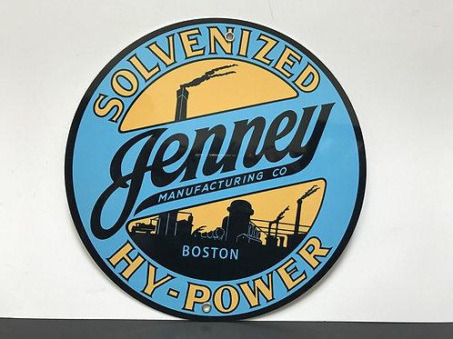 JENNEY HI POWER REPRODUCTION SIGN