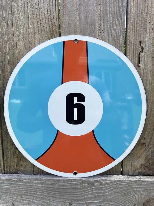 Gulf Racing Garage Sign