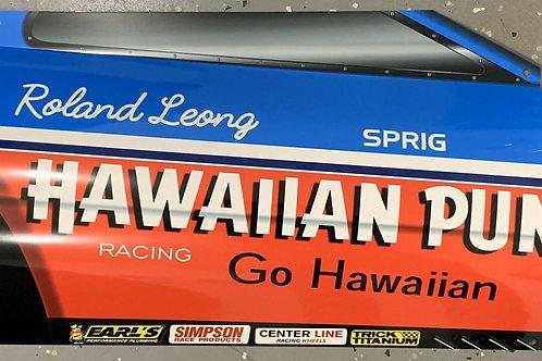 Hawaiian Punch Race Car