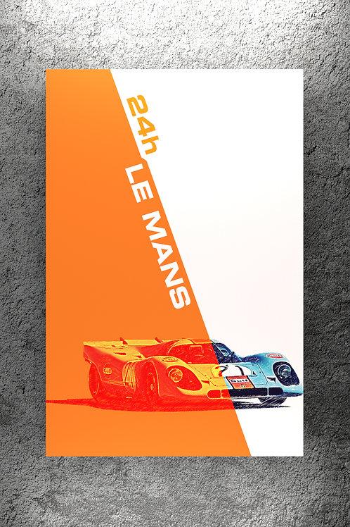 917K Le Mans Graphic