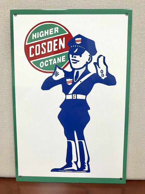 Cosden Higher Octane Gas Sign