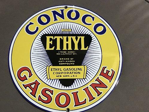 Conoco Ethyl Gasoline