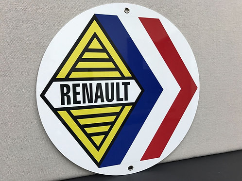RENAULT REPRODUCTION SIGN