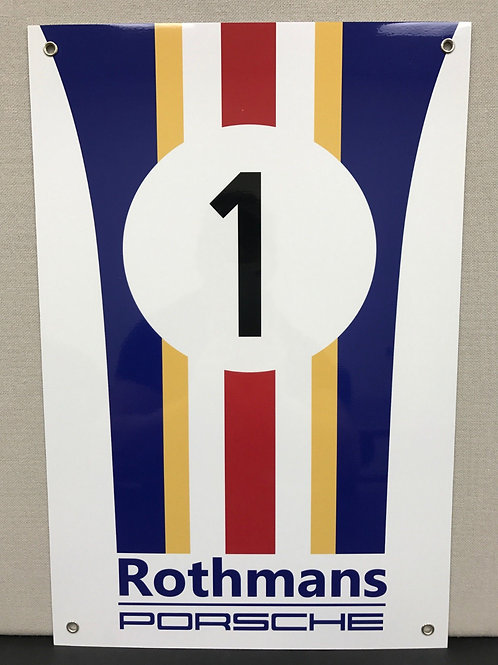 ROTHMANS RACING TEAM REPRODUCTION SIGN