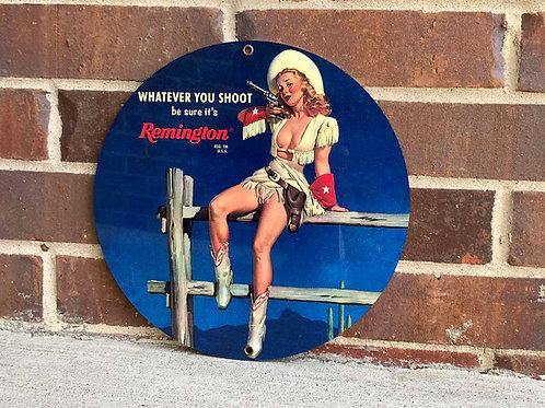 Remington Vintage Style Advertising Sign