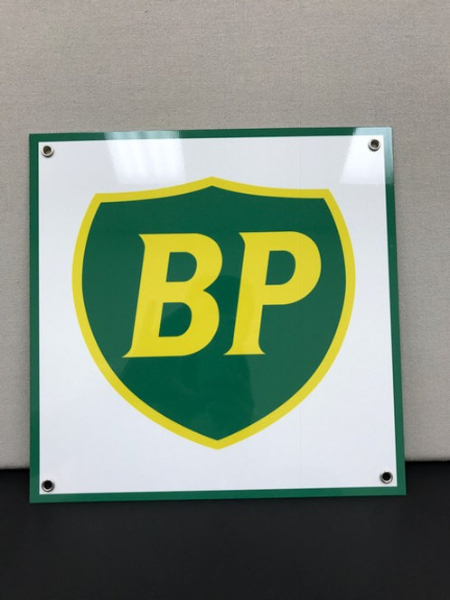 BP GASOLINE  REPRODUCTION SIGN