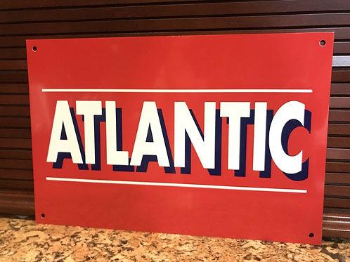 Atlantic Gasoline Vintage Sign