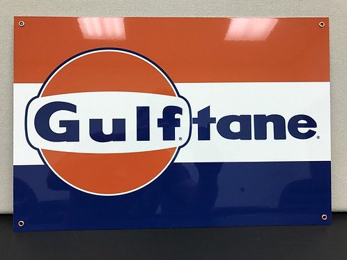 GULF TANE GASOLINE REPRODUCTION SIGN