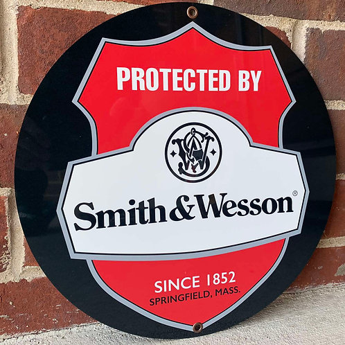 Smith & Wesson Advertising Sign