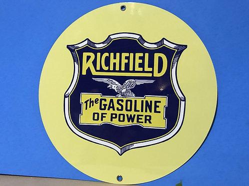 Richfield Gasoline Of Power Sign
