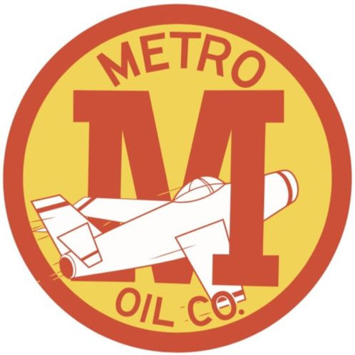 METRO OIL CO. REPRODUCTION SIGN