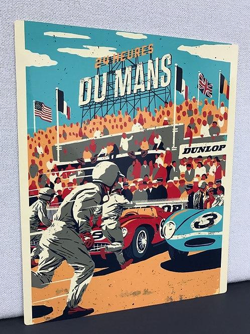 24hrs Du Mans Sign