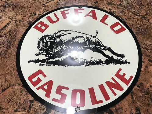 Buffalo Gasoline Sign