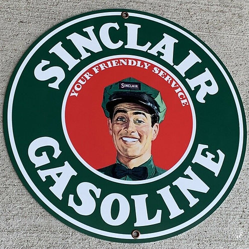 Sinclair Gasoline Service Sign