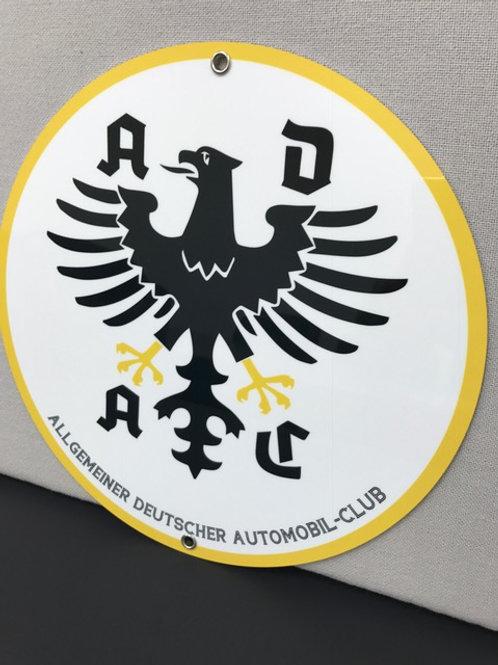 ADAC GERMAN AUTO CLUB REPRODUCTION SIGN