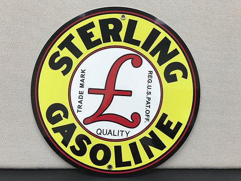 Sterling Gasoline Sign