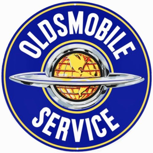 OLDSMOBILE REPORODUCTION SIGN