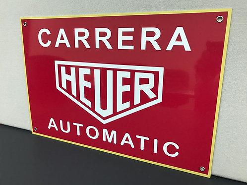 CARRERA HEUER REPRODUCTION SIGN