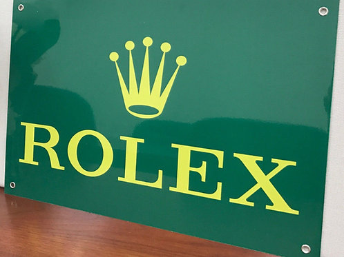 ROLEX WATCHES REPRODUCTION SIGN