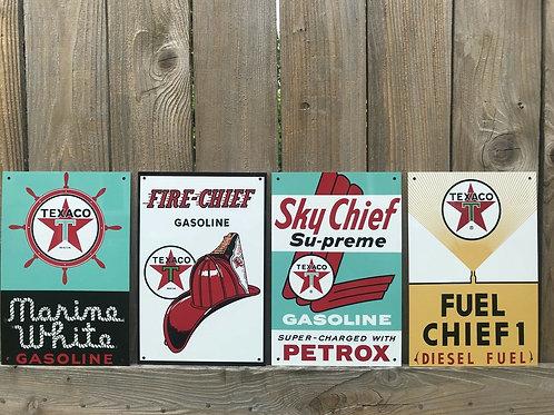 Texaco Marine White Fire, Sky & Fuel Chief Set