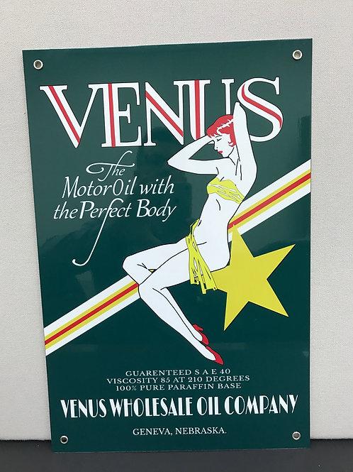 VENUS OIL COMPANY REPRODUCTION SIGN