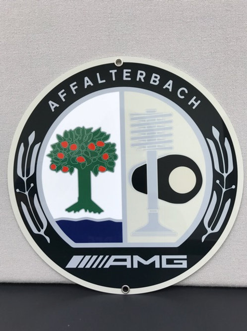 AMG MB REPRODUCTION SIGN