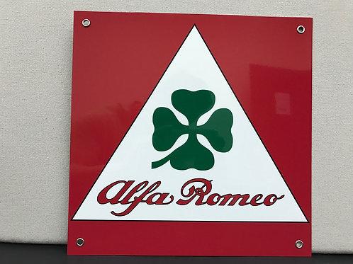 ALFA ROMEO REPRODUCTION SIGN