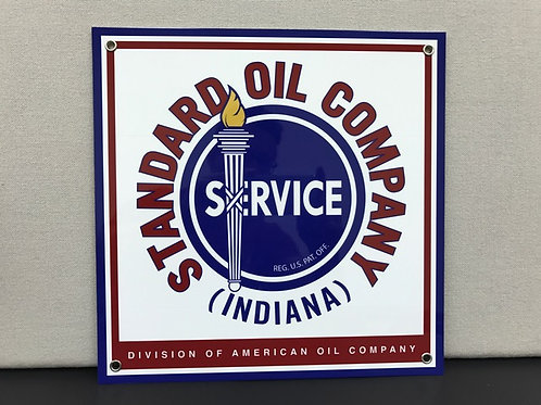 STANDARD OIL COMPANY SQUARE REPRODUCTION SIGN