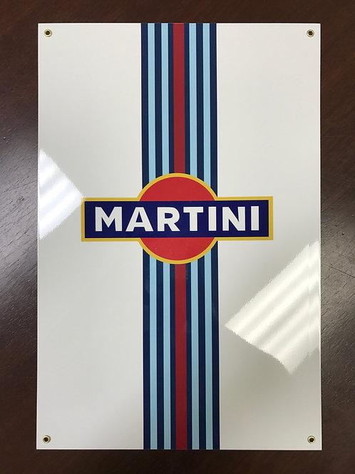 MARTINI RACING REPRODUCTION SIGN