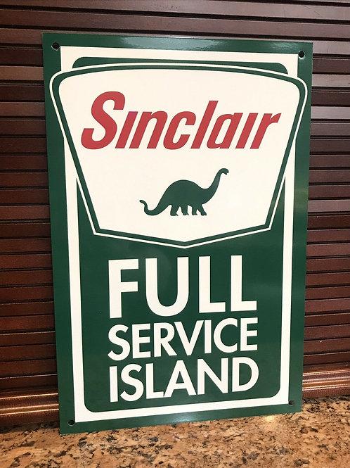 Sinclair Gasoline Full Service Island