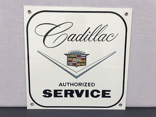 CADILLAC VINTAGE REPRODUCTION SERVICE SIGN