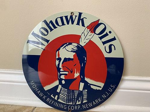 Mohawk Oils Sign