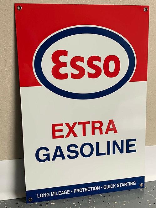 Esso Extra Gasoline Vintage Sign
