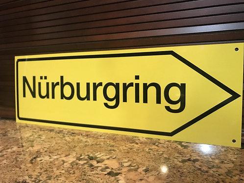 NURBURGRING RACE CIRCUIT SIGN