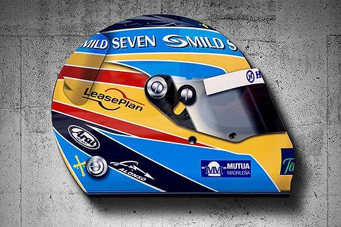 Fernando Alonso 2006 F1 Helmet