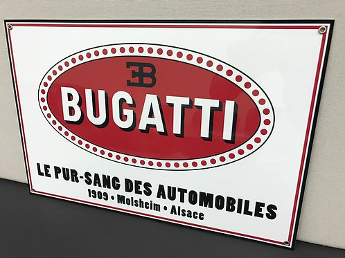 BUGATTI RETRO REPRODUCTION SIGN
