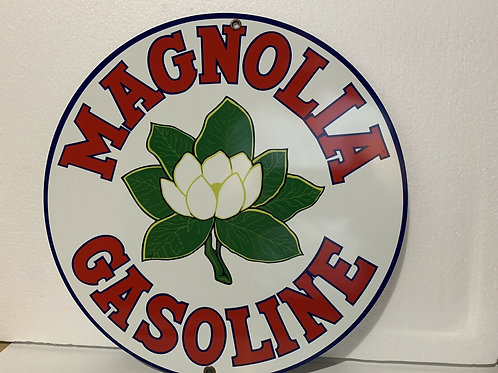 Magnolia Gasoline Sign